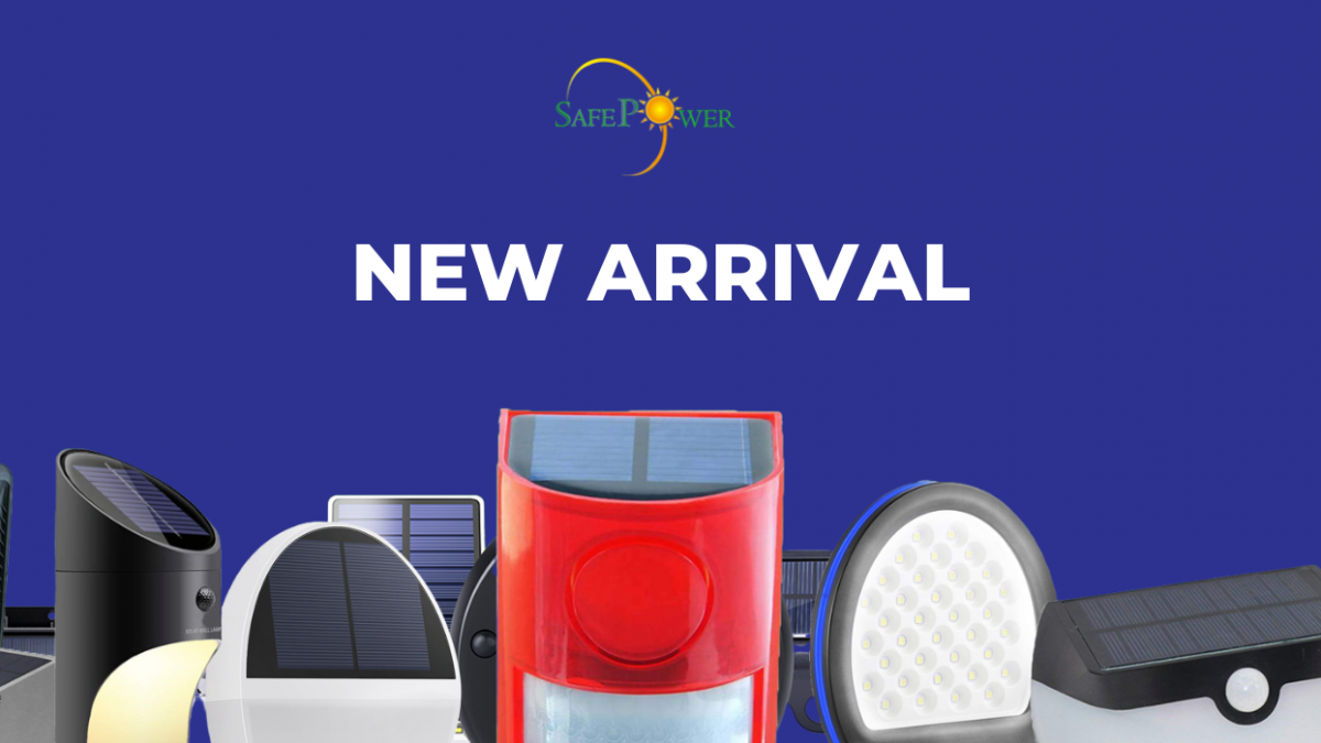 NEW ARRIVAL! SAFEPOWER SOLAR LIGHTS | SkyBright Solar