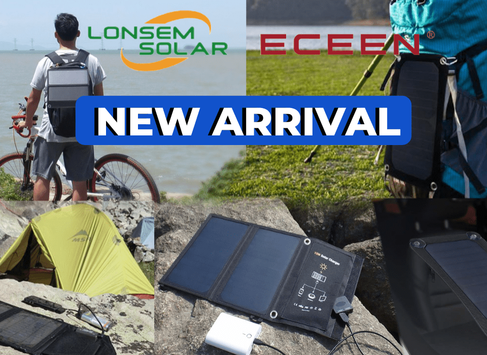 NEW ARRIVAL - WEBSITE ECEEN & LONSEM Solar Charger | SkyBright Solar