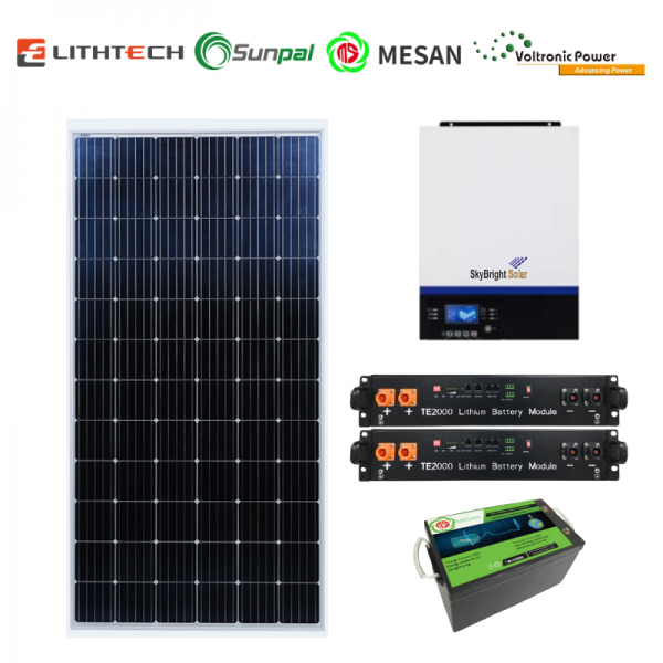 SkyBright Off Grid Premium | SkyBright Solar