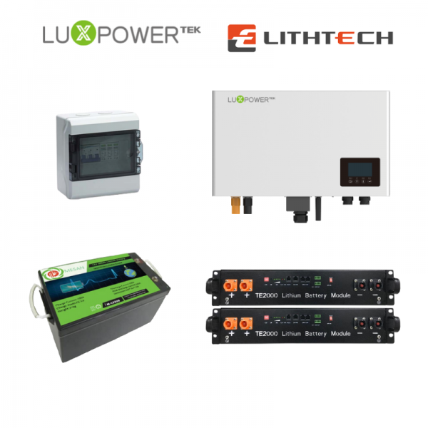 Lux AC Coupled Inverter System | SkyBright Solar