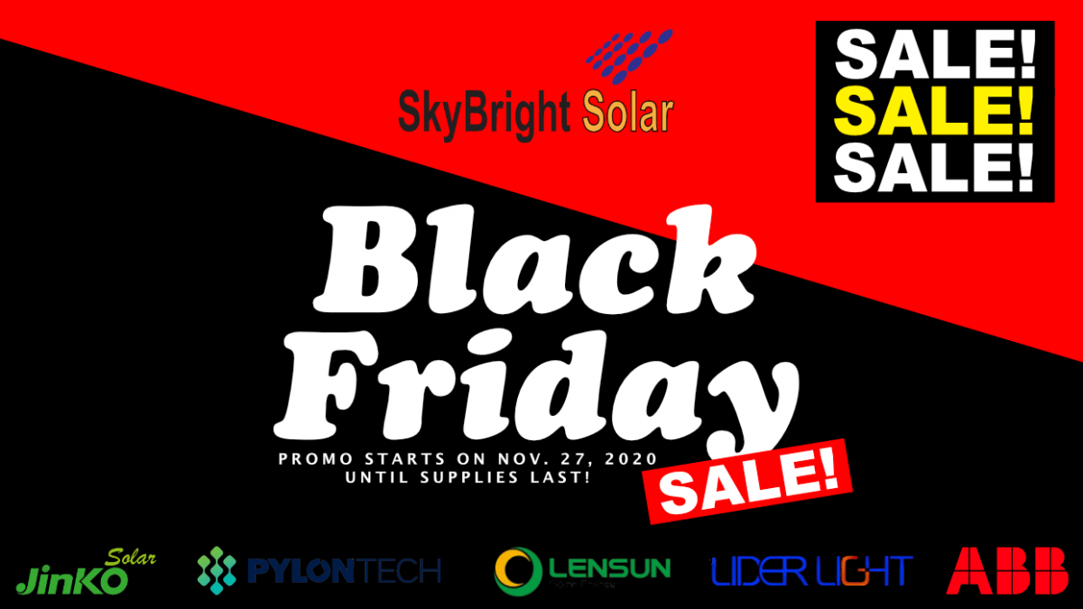 BLACK FRIDAY SALE! | SkyBright Solar