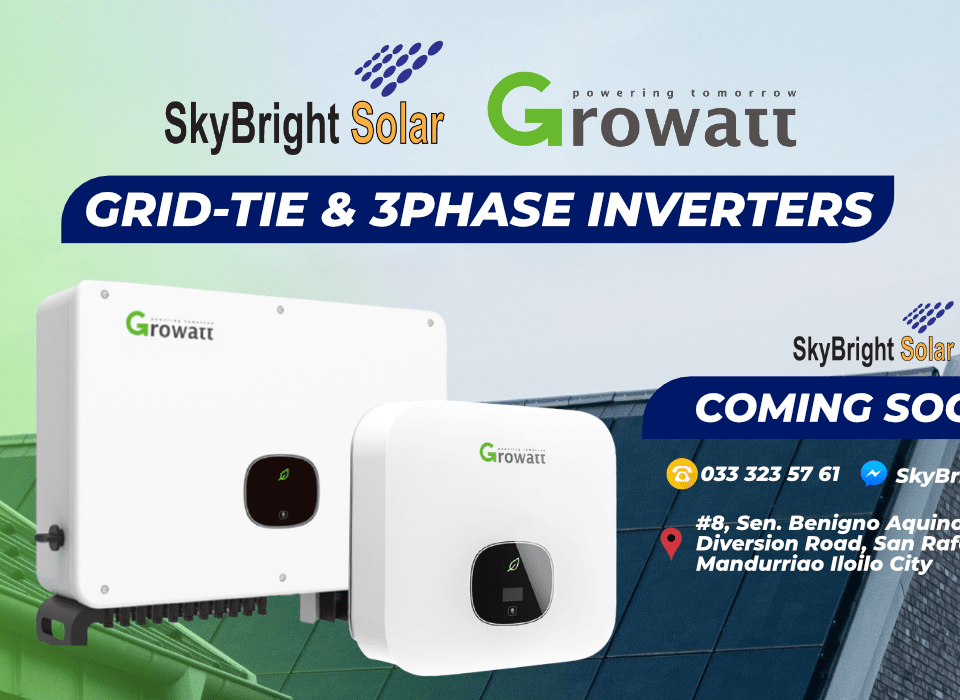 Growatt Grid Tie and 3-Phase Inverters | SkyBright Solar