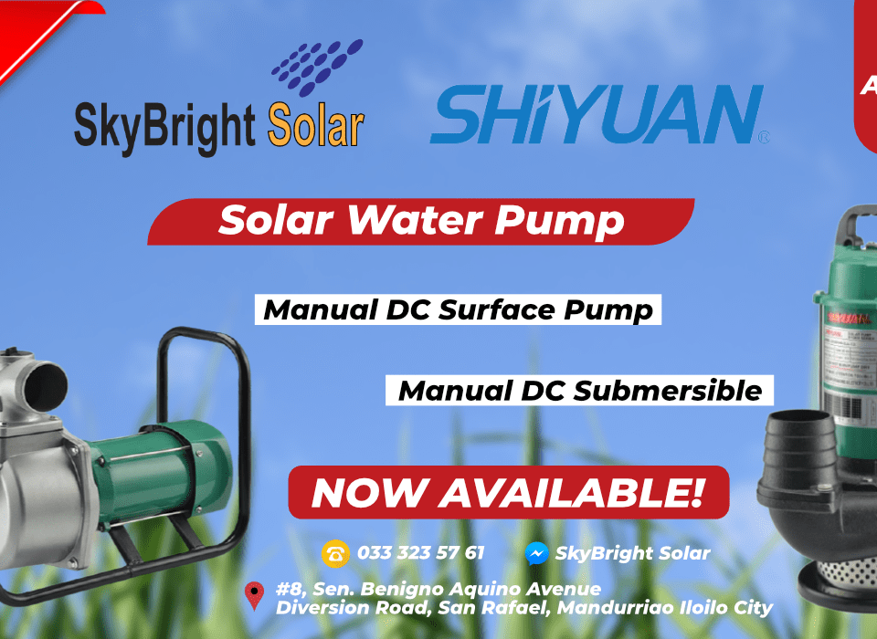 SHIYUAN Solar Submersible and Surface Water Pump | SkyBright Solar