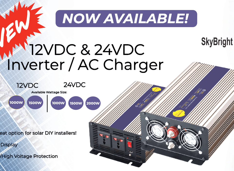 DOD Pure Sine Wave Inverter Charger Solar | SkyBright Solar